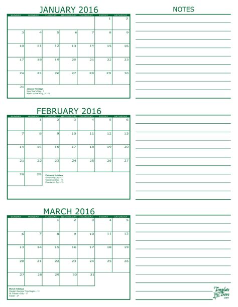 3 day calendar template search results for printable 2016 calendar three months