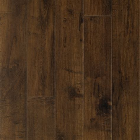 Laminate Plank Flooring Shop Pergo Max Premier 6 14 In W X 4 52 Ft L Chateau Maple Handscraped Wood Plank Laminate