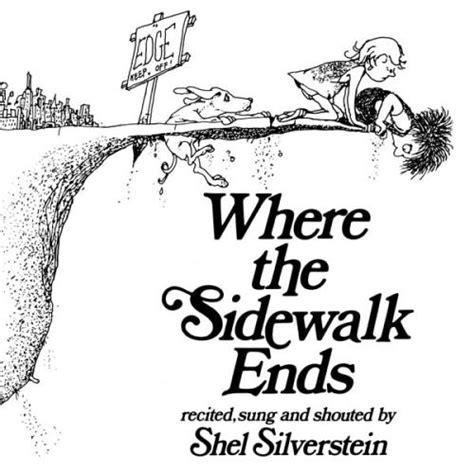shel silverstein where the sidewalk ends 1984