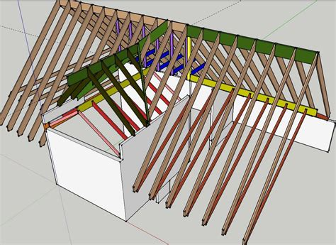 Hip Roof Truss Design Reason 2 Truss Would U Page 2 Framing