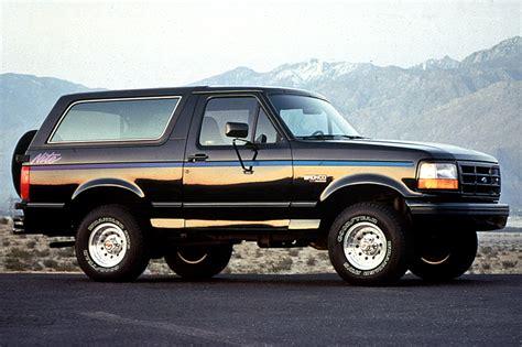 how cars run 1990 ford bronco regenerative braking 1990 96 ford bronco consumer guide auto