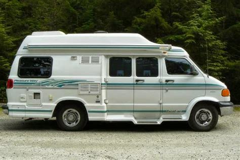 Type B Rv For Sale by Used Rvs 2000 Pleasure Way Class B Motorhome For Sale By Owner