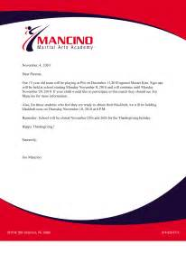 Business Letter Format On Letterhead Sample Sample Business Letter With Letterhead Sample Business