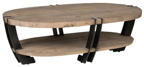 rustic oval coffee table home rustic marcelo oval coffee table
