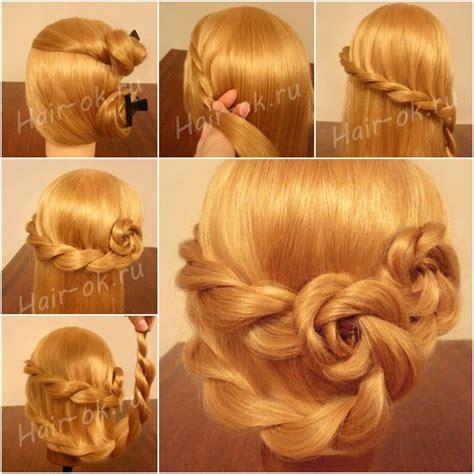 braided hairstyles tutorials dailymotion braided rose hairstyle double rose hairstyle hair styles