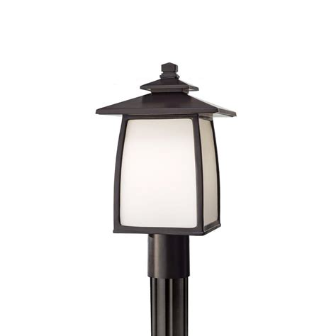 Home Depot Outdoor Post Lighting Home Decorators Collection Brimfield 3 Aged Iron Outdoor Post Light Hb7019a 292 The Home