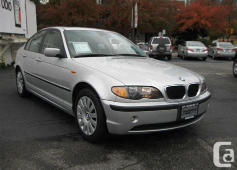 2002 bmw 320i price 2002 bmw 320i 4dr auto vancouver for sale in vancouver