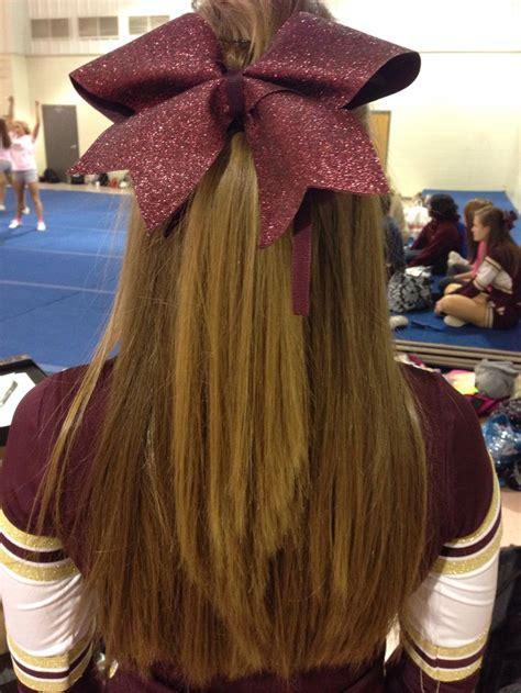 college cheerleading hairstyles 1023 best university cheer images on pinterest