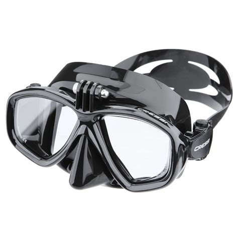 dive mask cressi mask with gopro mount the scuba doctor
