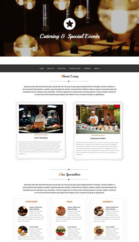 bootstrap themes w3 top 10 free responsive html5 bootstrap website templates