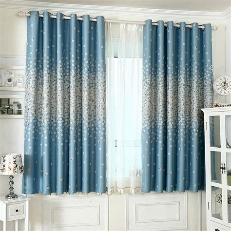 blue bedroom curtains curtain awesome combination blue and white curtains ideas