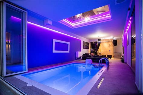 lux party house  indoor poolspazen yardbelgrade