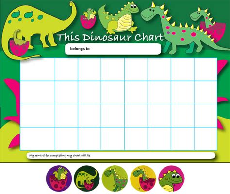 printable star charts for toddlers printable dinosaur behavior charts viewing home