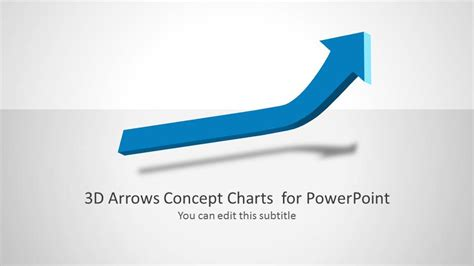 3d Home Design Inside 3d Arrows Concept Charts For Powerpoint Slidemodel