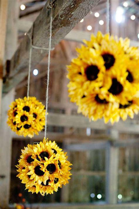 Diy Sunflower Decorations 30 budget friendly and diy wedding ideas amazing diy interior home design