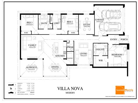 floor plans for one story houses single story modern architecture modern single story house