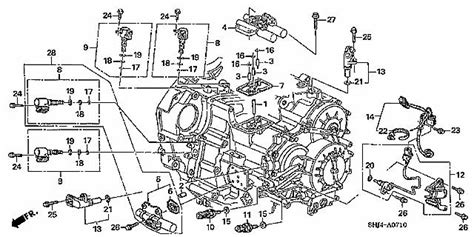 car wiring e4od transmission wiring diagram honda