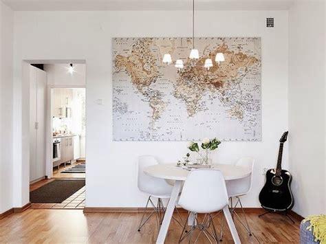 Wall Map Mural decorar con mapas mundi bohochicstylebohochicstyle