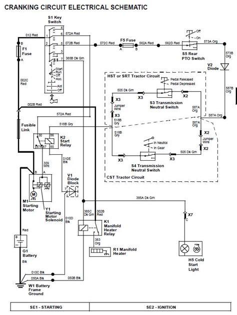 deere stx38 yellow deck diagram deere parts