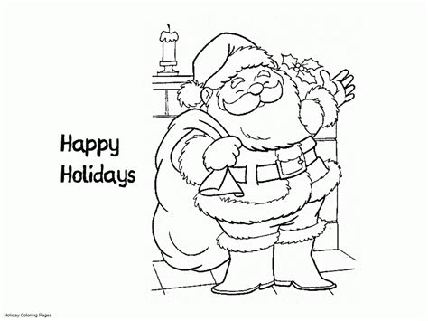 free coloring pages happy holidays happy holidays coloring pages printable coloring home