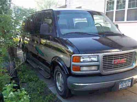 how cars run 2000 gmc savana 1500 parental controls purchase used 2000 gmc savana 1500 conversion van 5 7l in buffalo new york united states