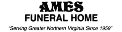 Ames Funeral Home by Ames Funeral Home Manassas Va Legacy