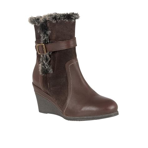 lotus boots uk lotus varda brown leather mid calf boots boots from