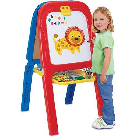 kids magnetic easel crayola 3 in 1 double easel with magnetic letters