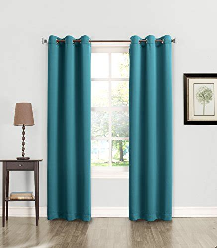 energy efficient curtain rods sun zero becca energy efficient grommet curtain panel 40