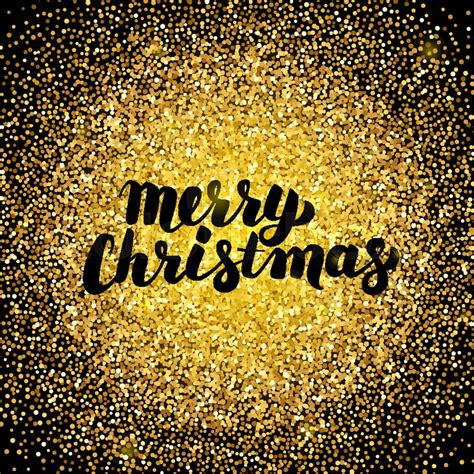 merry christmas gold design vector stock vector colourbox