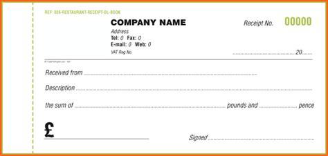 6 cash receipt template uk budget template letter