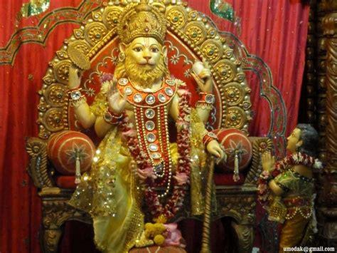lord narasimha dev narsimha abhishek 2010 05 iskcon desire tree devotee