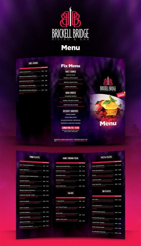 lunch menu template   word  psd eps