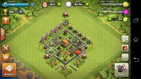 layout for town hall 5 image town hall 5 best defence layout png clash of