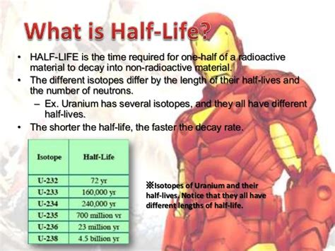 what is biography in science science 7 2 half life