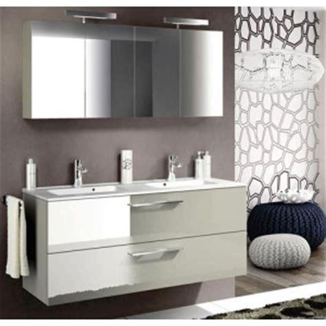 meuble sous vasque delpha graphic avec un plan vasque moul 233 blanc brillant