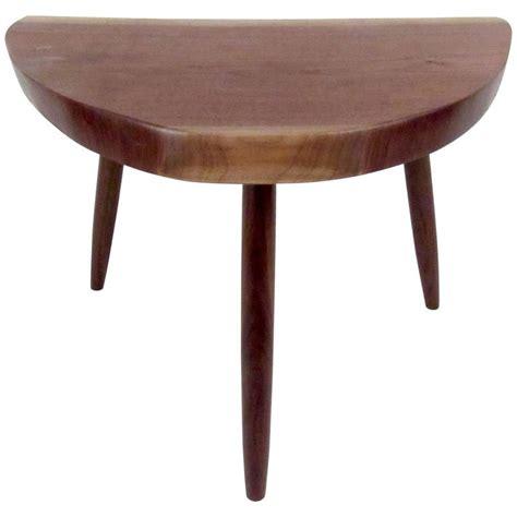 Handmade Stool - unique handmade nakashima style stool for sale at 1stdibs