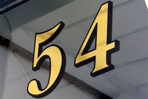 Front Door Numbers And Letters Gold Leaf Fanlight Transom House Numbers For Front Door Fanlights Ebay