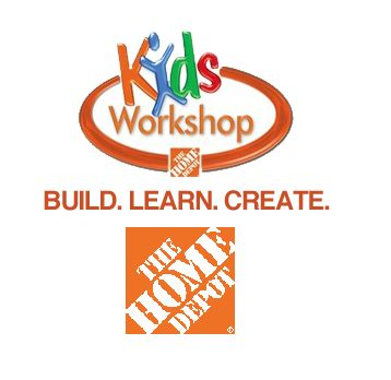 home depot workshop williamsburg families