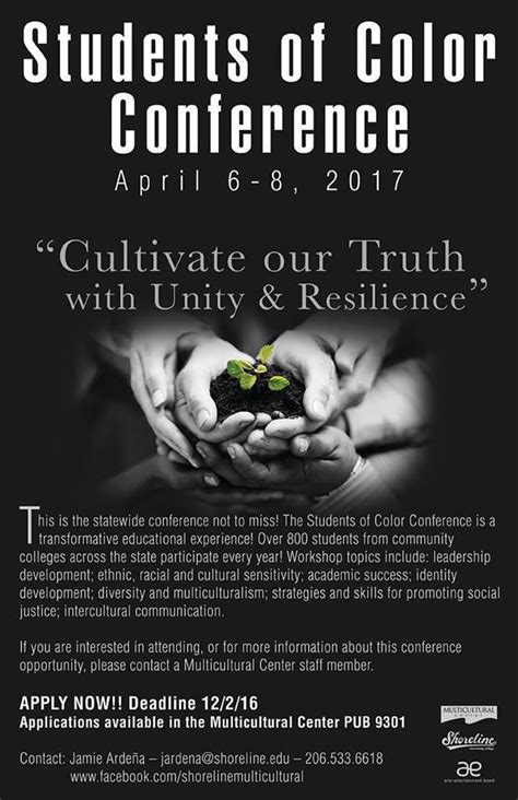 students of color conference tell your students students of color conference deadline