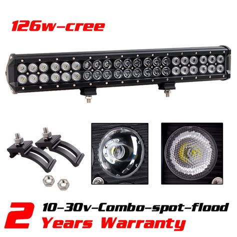 Led Light Bars For Atv by Aliexpress Buy 20inch 126w Cree Led Light Bar For