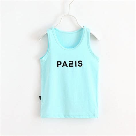 Shirt 10 Summer sashine summer children clothes t shirt boys cotton sleeveless tops vest shirts