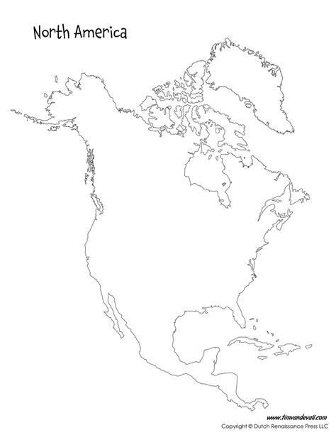 printable maps north america north america map tim s printables