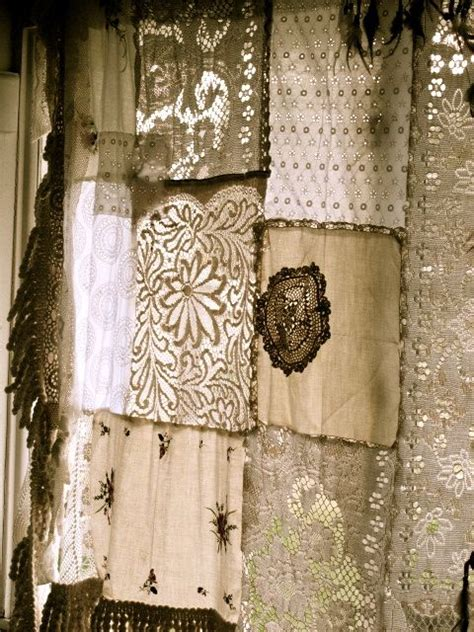 Vintage Patchwork Curtains - the world s catalog of ideas