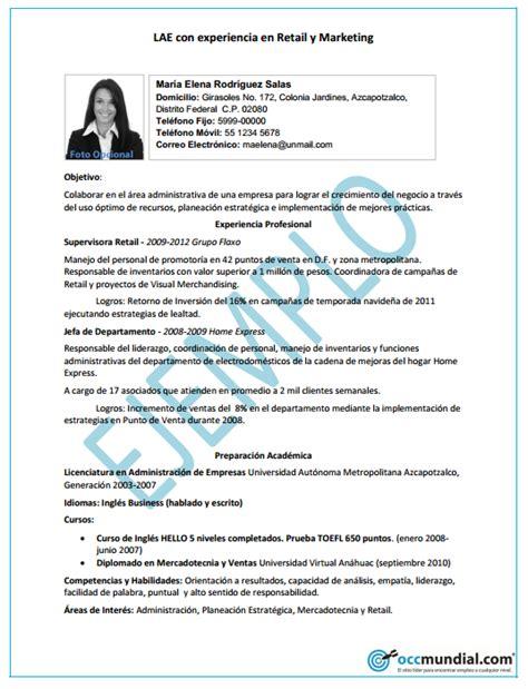 Modelo De Curriculum Para Trabajo Experiencia Aprende A Hacer Tu Curr 237 Culum Paso A Paso