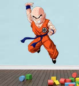 dragon ball z wall decal removable wall sticker mural goku krillin dragon ball z decal removable wall sticker home