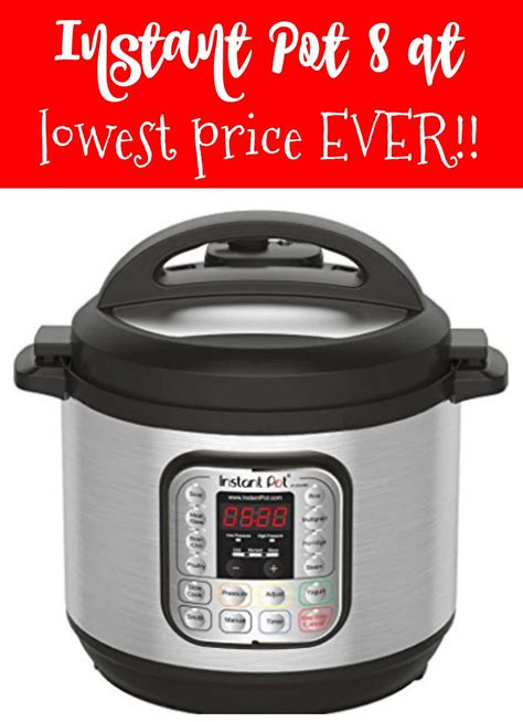 instant pot duo80 8 qt 7 in 1 instant pot 8 qt 7 in 1 lowest price kasey trenum