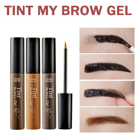 brow gel colors 25 best ideas about tattooed eyebrows on