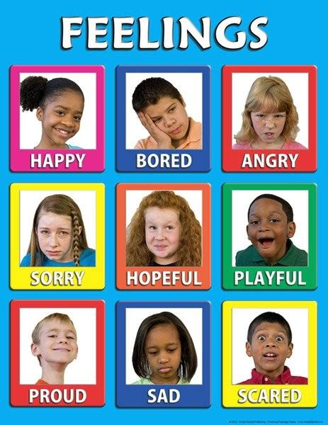 free printable emotions poster preschool feelings 30 mini posters teaching my kids