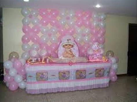 decoracion con globos para baby shower